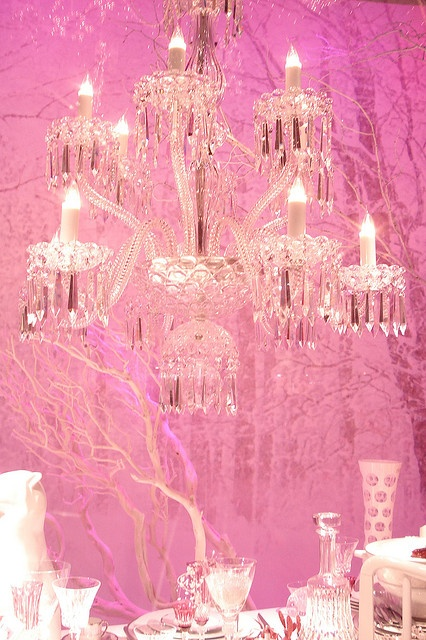Beautiful pink atmosphere!!! Bebe'!!! What a Pretty Pink Environment!!!