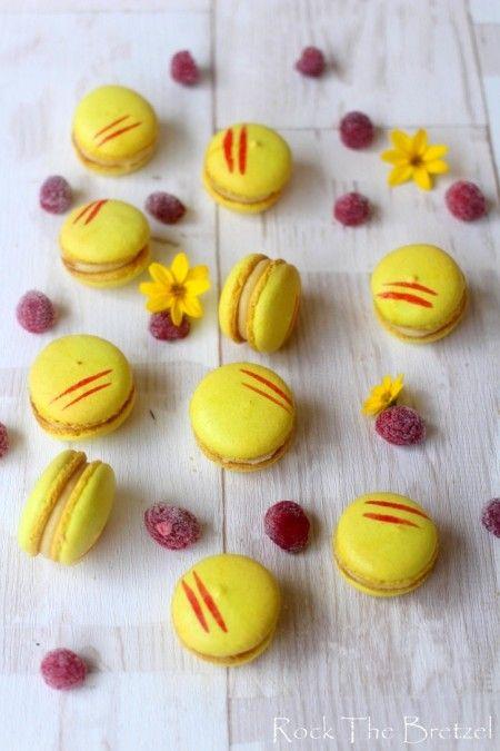 Macarons citron framboises Plus