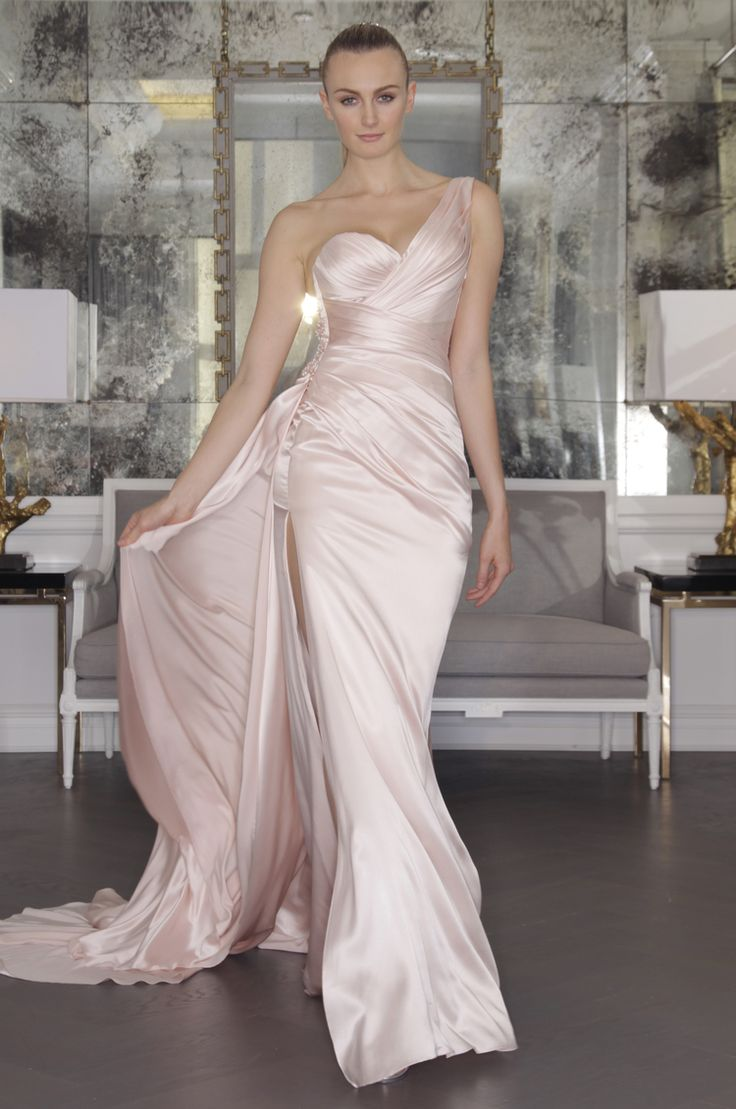 Wedding dress pink pinterest