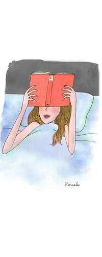 Bed and Book time!!!