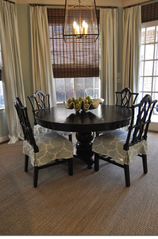 74 best dining room images on pinterest dining room drapes i