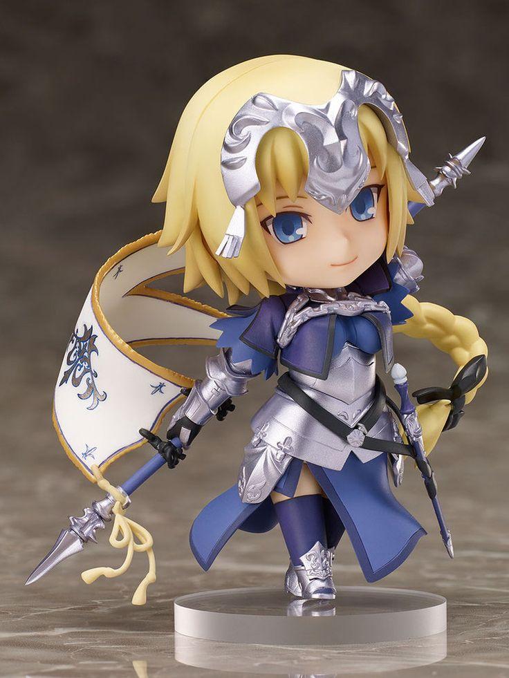 Fate/ Grand Order Chara Forme Plus PVC Statue Ruler / Jeanne d'Arc 10  cm
