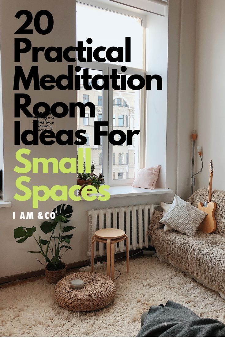 20 Budget Friendly Meditation Room Ideas For Small Spaces In 2020