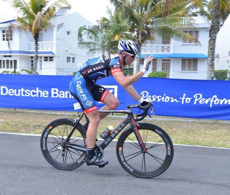 2013 Mauritius... Top step of the podium...