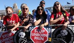 A new Gallup poll finds that satisfaction with abortion policies has reached a new low -- and that more people want laws to be stricter than less stricter. (AP Photo/Alex Washburn)