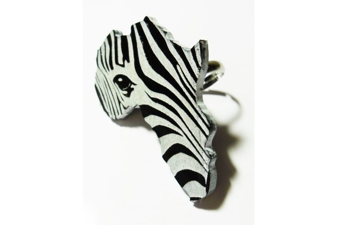 Africa zebra ring by Dragonfly Dreams on hellopretty.co.za