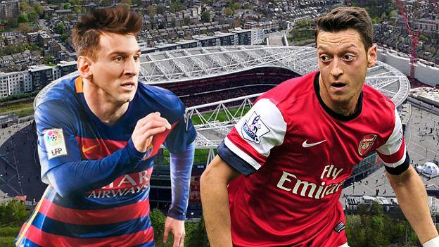 Barcelona vs. Arsenal será uno de los partidos más atractivos de este martes por Champions League. El cuadro buscará la sorpresa, en un campo donde todavía no ha ganado, pero frente a un rival que se le da muy bien y que nunca ha sido capaz de eliminarles en Europa.Feb22, 2016