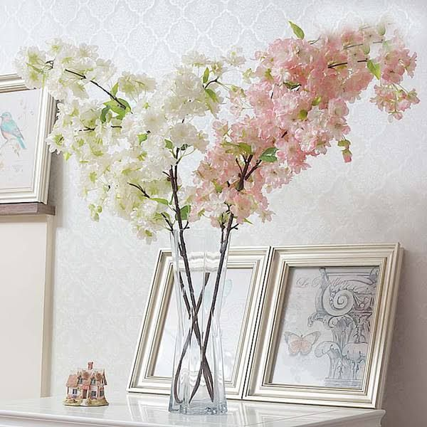 cherry blossom faux flowers