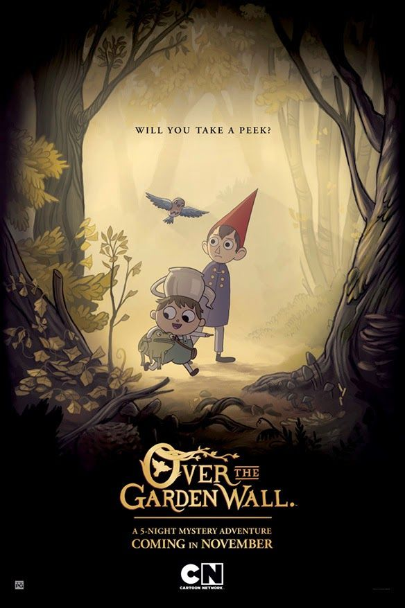 Over the Garden Wall is one word: amazing. Probably one of my favorite animated shows ever