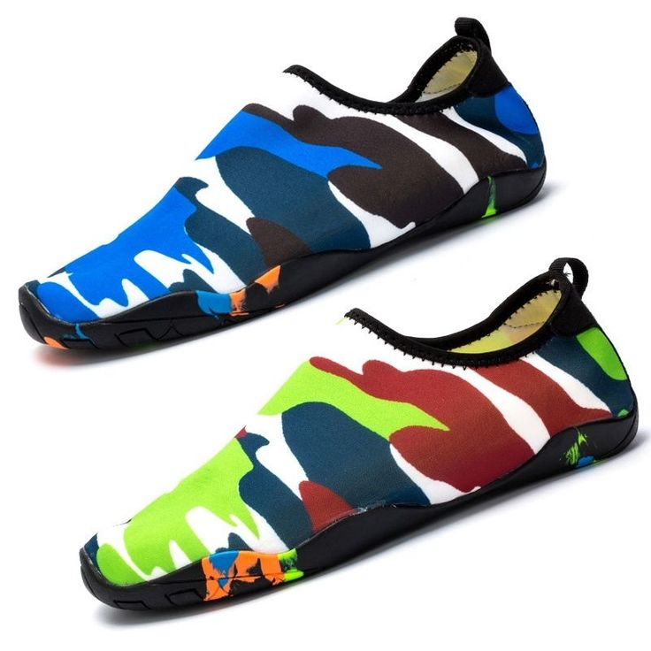 Hot Women Water Shoes Fold Up Leisure Trainer Comfy Barefoot Skin Shoes Surf