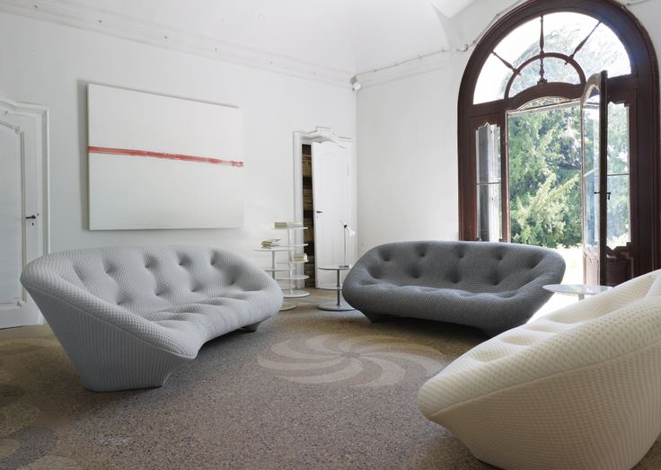 Ploum the ploum settees are the fruit of much research into comfort and