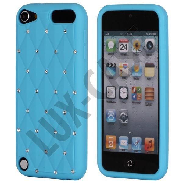 Soft'n Bling (Lys Blå) iPod Touch 5 Deksel