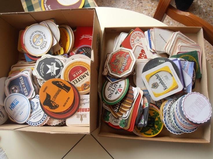 colección posavasos años 60, 70 y 80