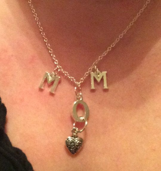 Beautiful MOM necklace by leonorafi on Etsy