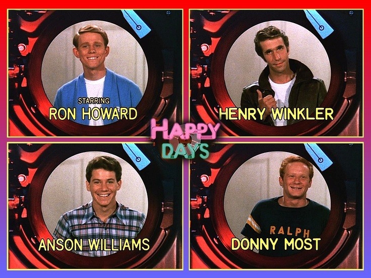 happy days... Great tv show...