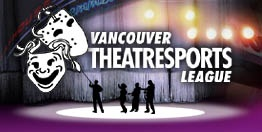 After dinner Unconvention Guests attended a Vancouver TheatreSports League comedy show in Granville Island.