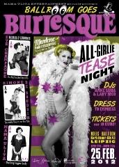 Burlesque Show in Noels Ballroom Leipzig