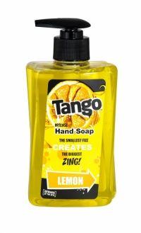Tango Intense Hand Soap 350ml Lemon Beware of the bite! The smallest fizz creates the biggest zing!