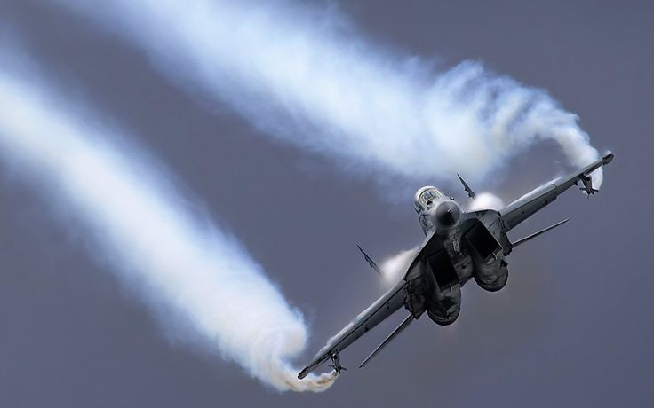 Russian MIG-29 Fulcrum Fighter Aircraft