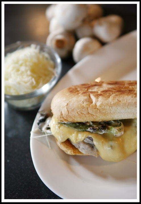 Spicy Mushroom Torta with Wisconsin Queso Quesadilla Cheese