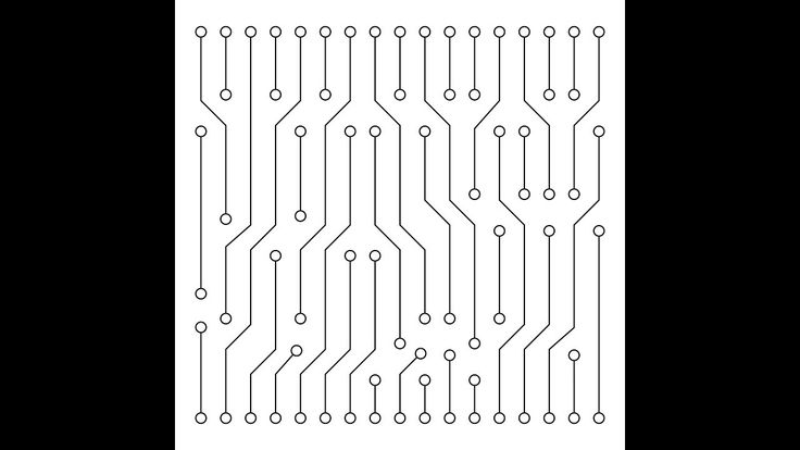 Printed circuit board - Adobe Illustrator cs6 tutorial. How to create ve...