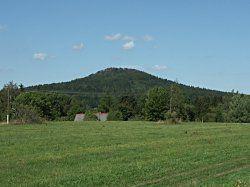 Vlčí hora - čedičová kupa (581 m)