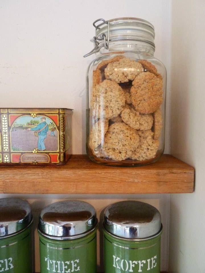 LEVEN ZONDER AFVAL: Recept Havermoutkoekjes