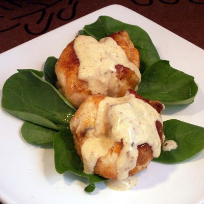 Gourmet Cooking For Two: Mini Chicken Cordon Bleu for two