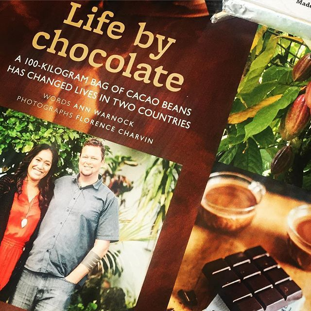 Such an amazing experience to be featured in the latest @nzlifeandleisure ❤️ Beautifully worded by Ann Warnock and  photography by @fotographiebyflorencecharvin  #proud #nzlifeandleisure #cacao #samoa #thankyou