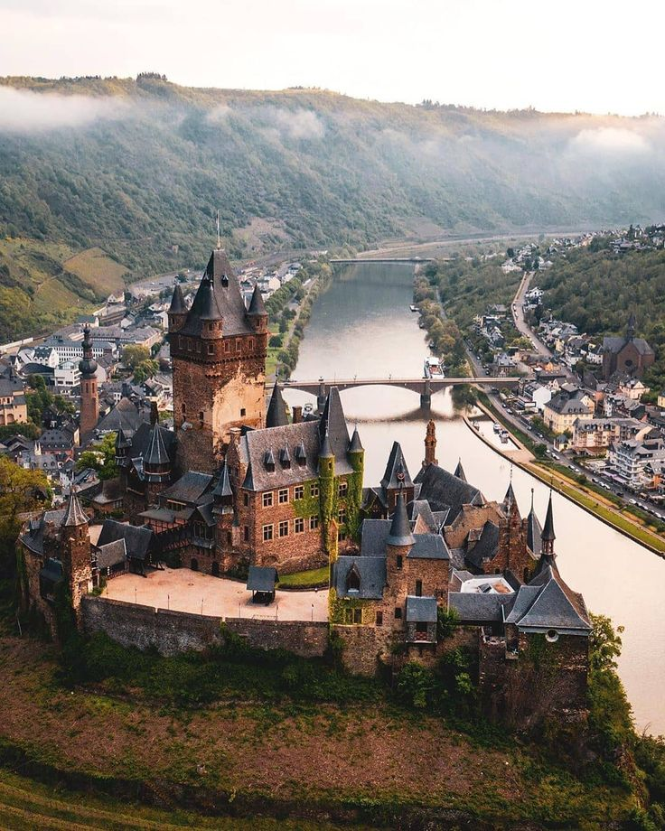 Cochem Castle Cochem, Germany