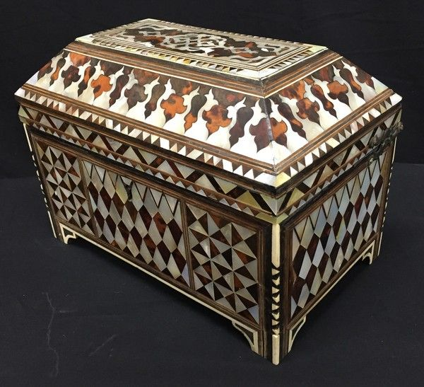 18th Century Ottoman inlaid box