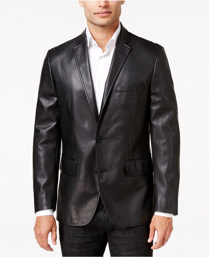 258 best Men's Leather Suits images on Pinterest | Men's leather ...