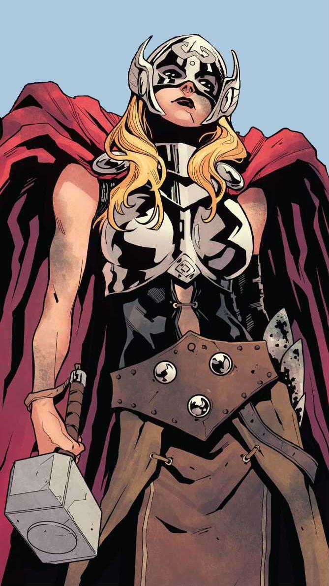 Thor (Jane Foster) by Valerio Schiti
