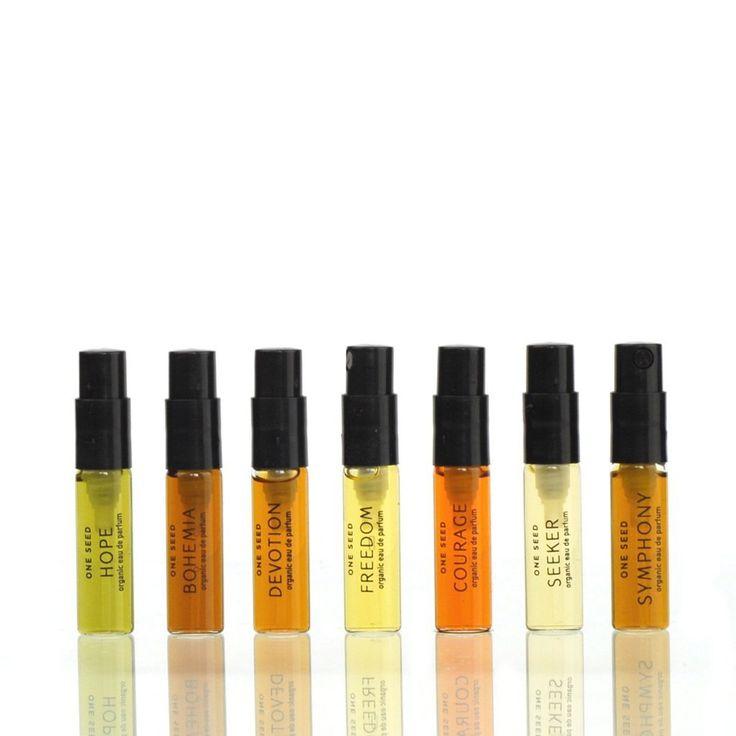 Organic Perfume Sample Set