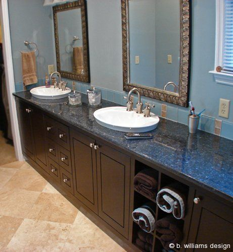 Blue Pearl Granite Tile Photos