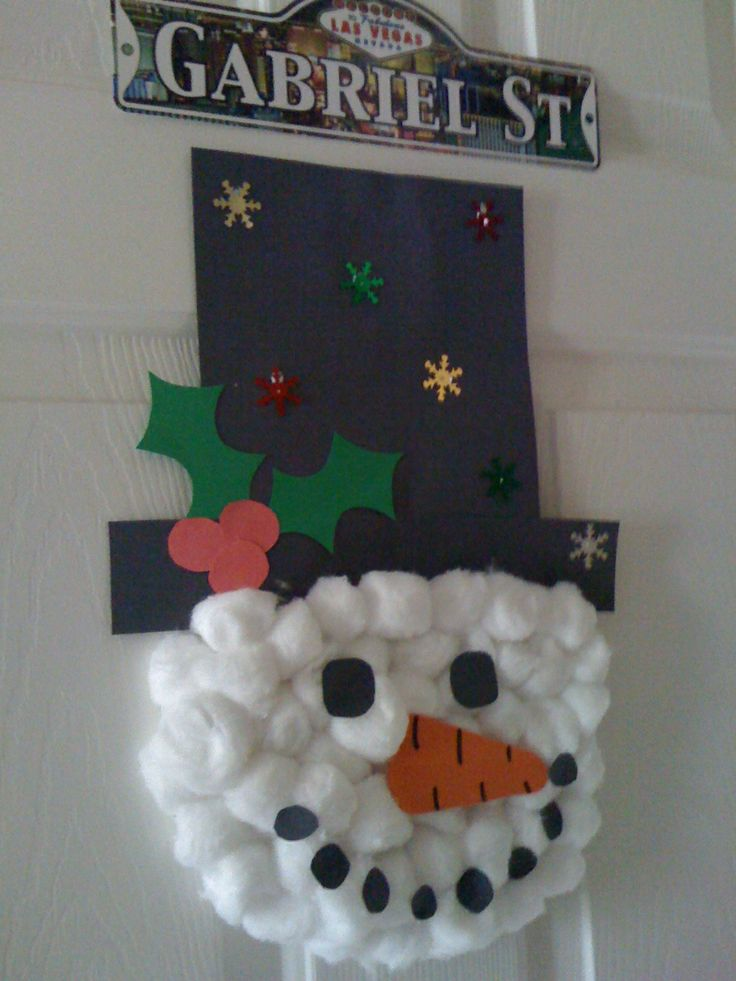 17 best images about christmas crafts on pinterest christmas trees easy christmas crafts and - Cotton ballspractical ideas ...
