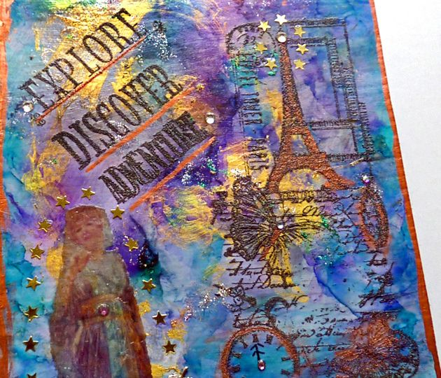 Discover collage travel art journal by ld photography 12, via Flickr