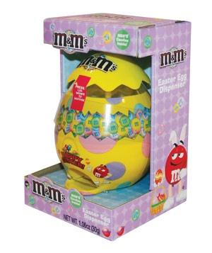M's Easter Egg Candy Dispenser, $4 #dailyfinds