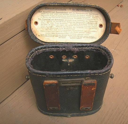 Vintage Emil Busch Fernglas German WWI Binoculars with Case Working and Well Marked eBay