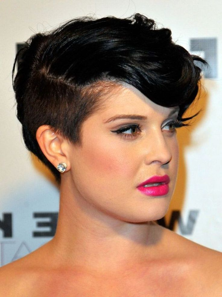 Kelly Osbourne with Undercut Hairstyle