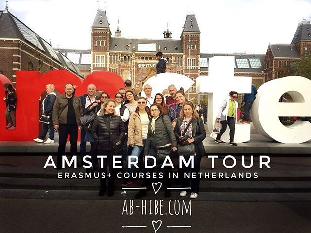 Another great picture from our participants in Amsterdam is for you #erasmusplus…