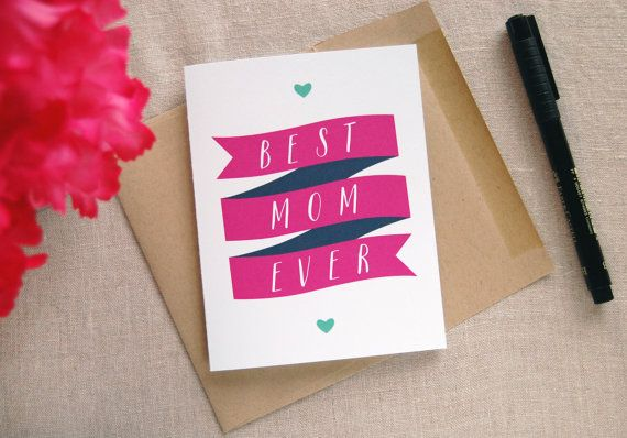 Mother's day card idea