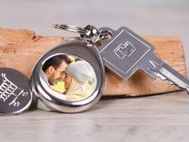 Foto-Schlüsselanhänger nicht nur für Verliebte. mit deinem eigenen Bild. Schnell und günstig bei #Personello.de