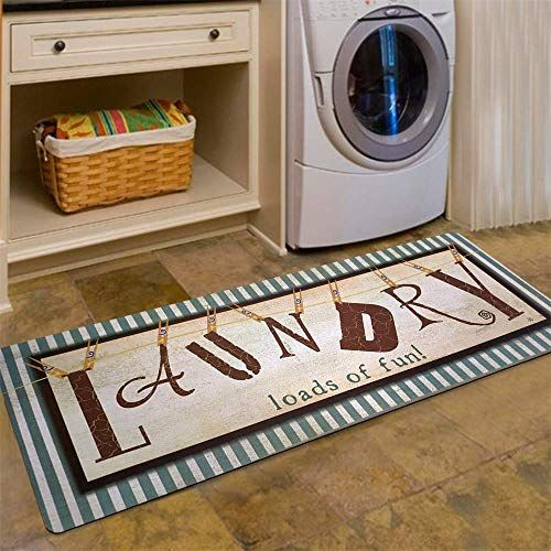 Enjoy Exclusive For Ustide Vintage Style Laundry Room Waterproof