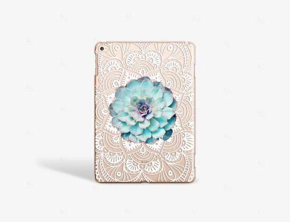 Succulent iPad Air 2 Case Floral iPad Air 2 Case Mandala iPad