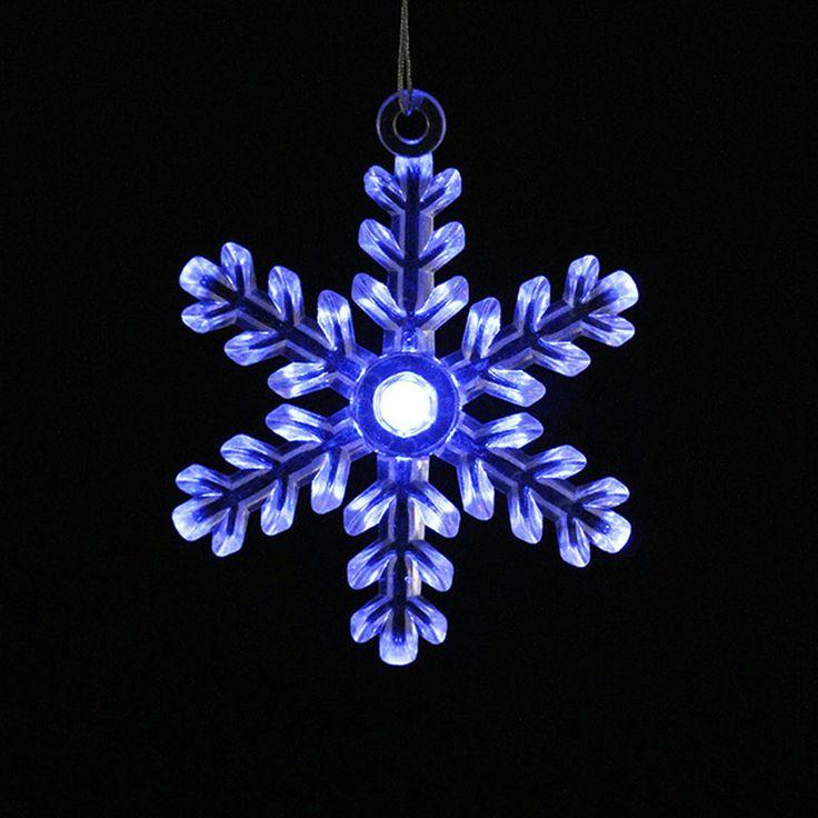Goedkope 9cm transparant helder acryl sneeuwvlok blauw 2015 rode led flitser kerstboom krans rotan decoratie ornamenten voor home party, koop Kwaliteit kerst decoratie benodigdheden rechtstreeks van Leveranciers van China: Naam:9cm transparant helder acryl sneeuwvlok blauw 2015 rode led-flitser kerstboom krans rotan decoratie orn
