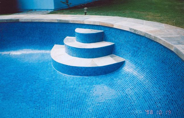 72 best images about pool tile ideas on pinterest - Swimming pool glass tile design ...