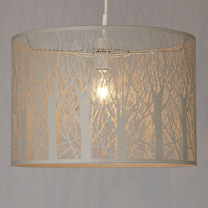 Buy John Lewis Devon Easy-to-fit Ceiling Shade, Large, Taupe Online at johnlewis.com
