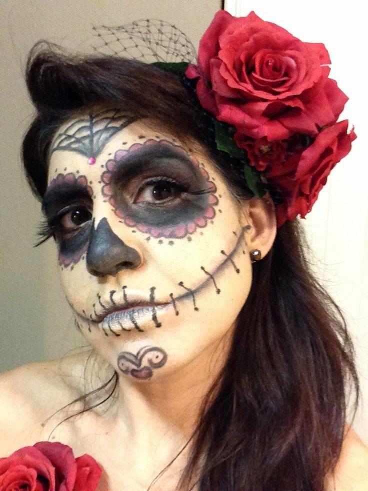 Dia de Los muertos makeup/ costume
