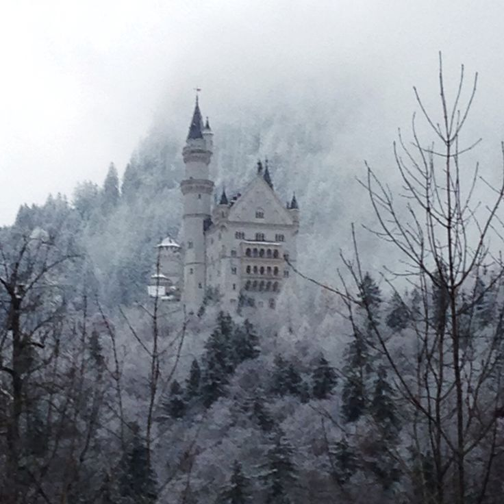 Fairy tale castle in Germany, can't believe how well the picture came out, taken with an iPhone5